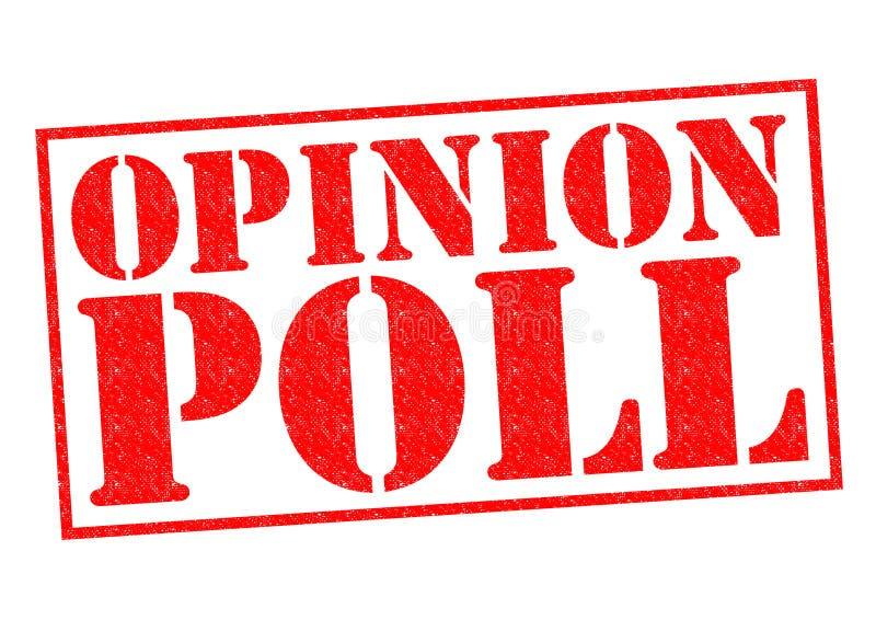 Opinionsundersökning royaltyfri illustrationer