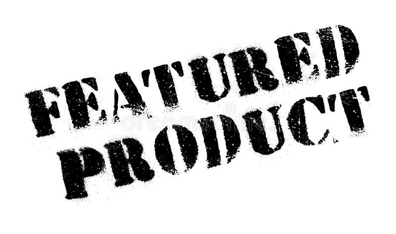 Opisywany produktu znaczek obrazy stock