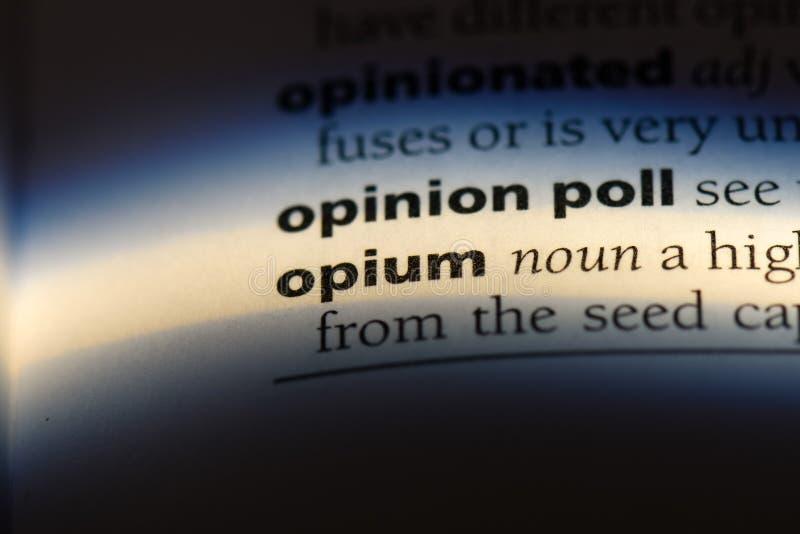 opium photo libre de droits