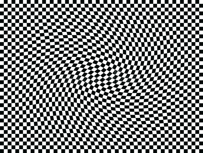 OPkunst-bewegliche Quadrate eins vektor abbildung
