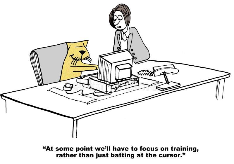 Opleiding stock illustratie