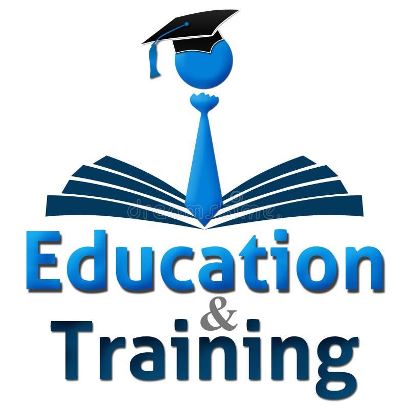 Opleiding en onderwijs Menselijk GLB Boek vector illustratie