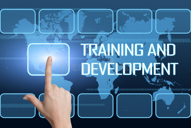 Opleiding en Ontwikkeling stock illustratie
