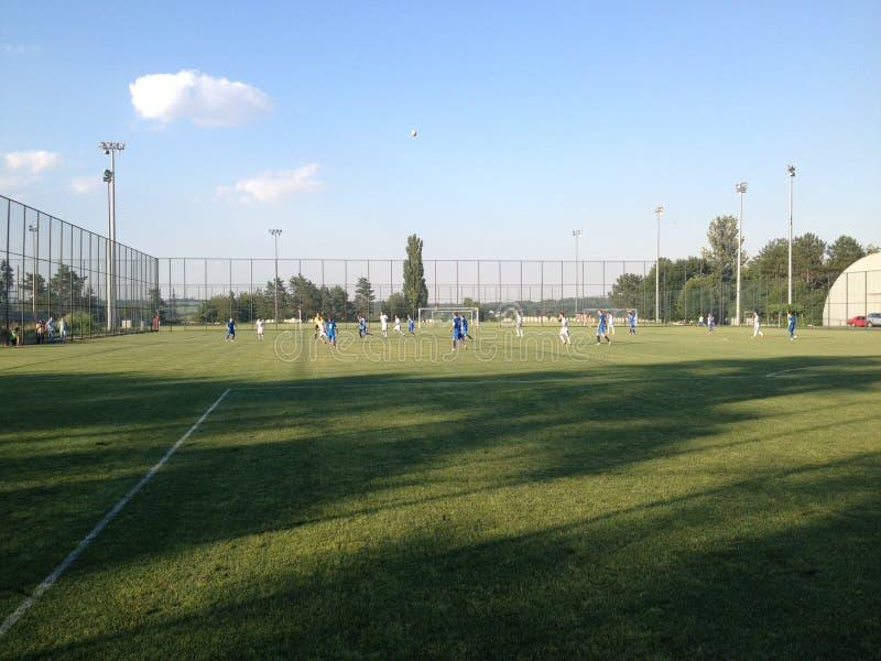 Opleidingsbasis van FC Dnipro royalty-vrije stock fotografie