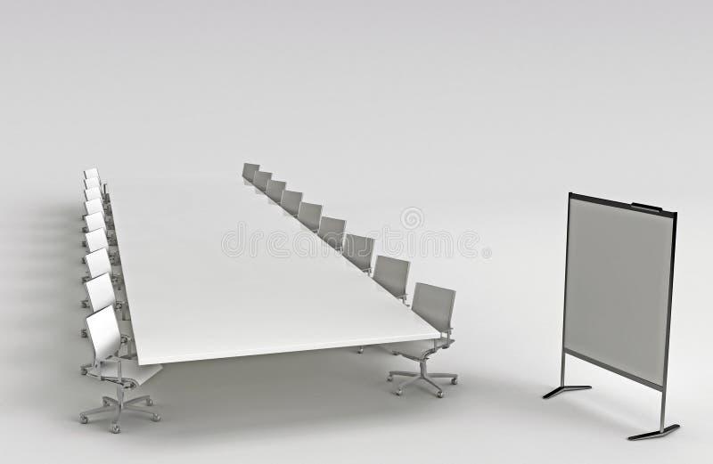 Opleidingsruimte vector illustratie