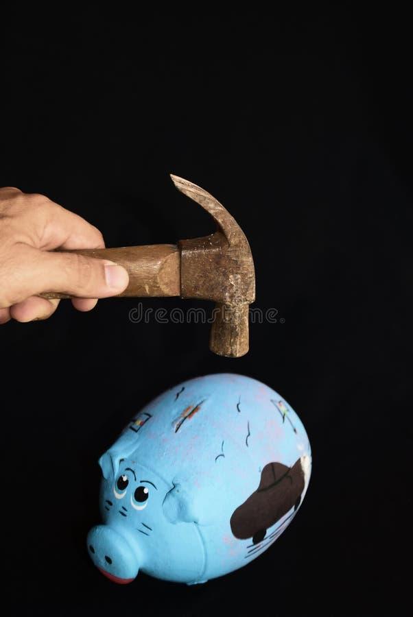 Oplossing voor de globale economische crisis stock afbeelding