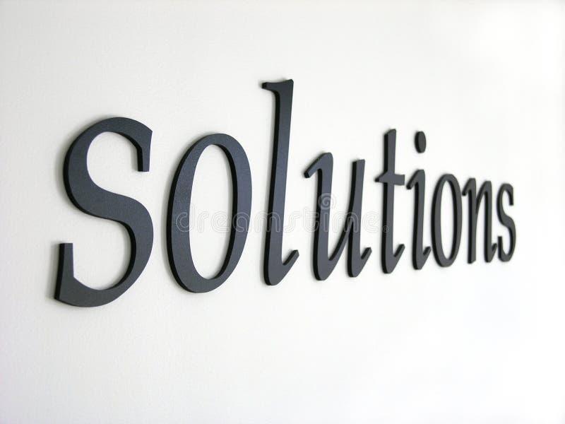 Download Oplossingen stock foto. Afbeelding bestaande uit denim, woord - 34776