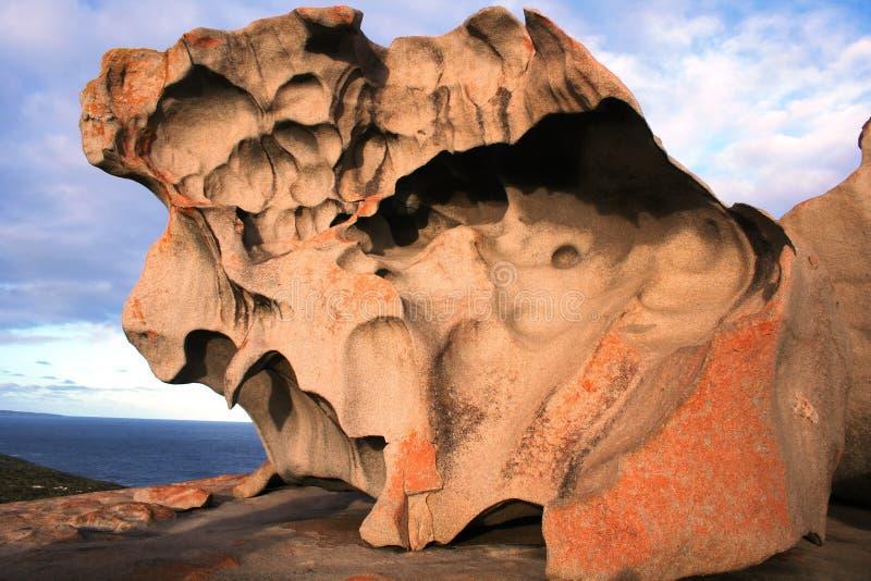 Opmerkelijke Rotsen, het Eiland van de Kangoeroe stock foto