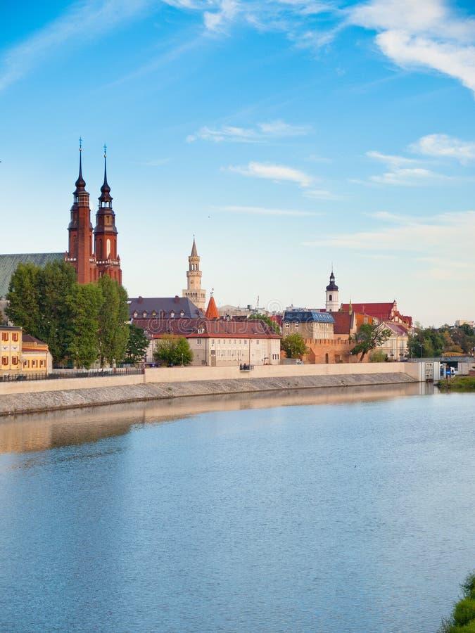 Opole - Polen stock fotografie