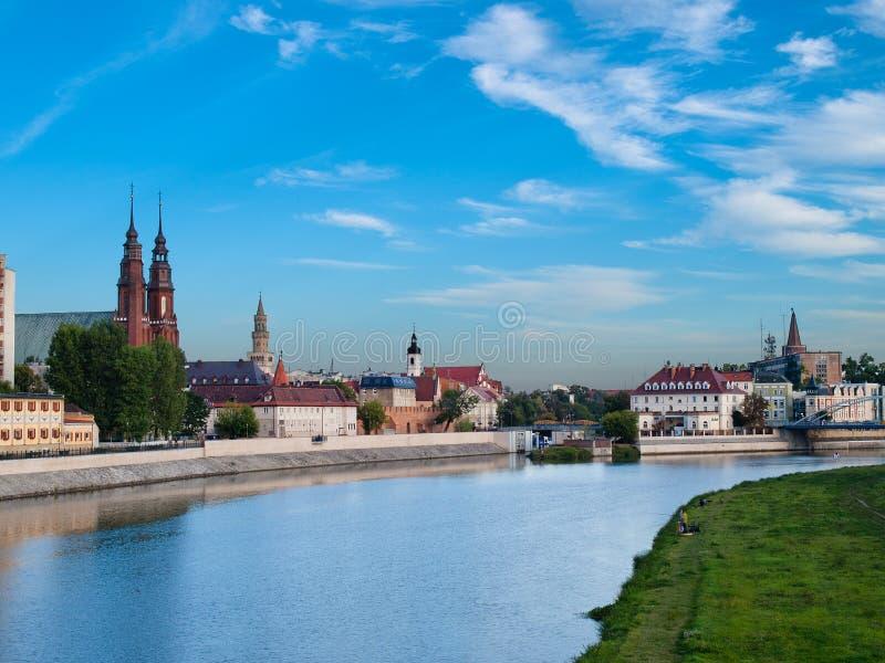 Opole - Polen royalty-vrije stock fotografie