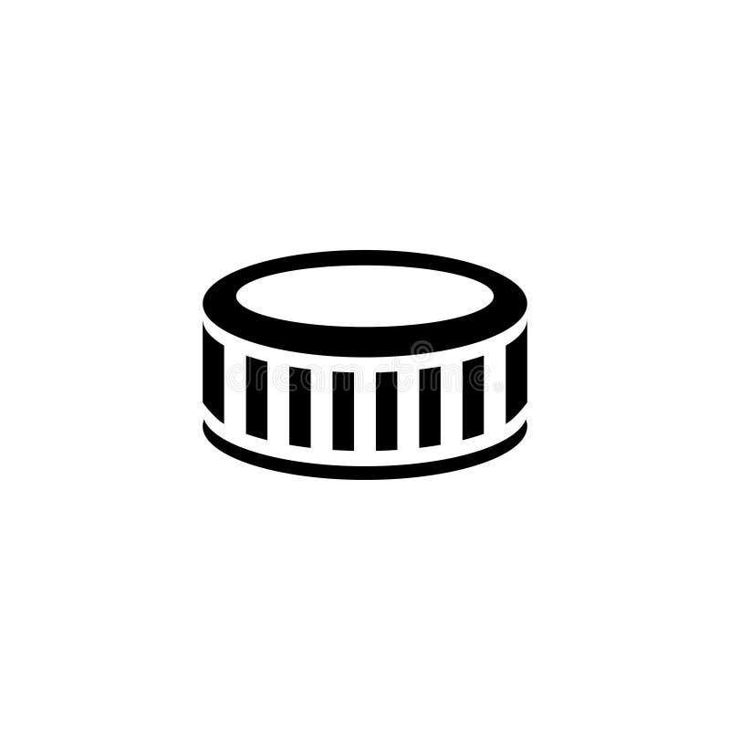 Opony Płaska Wektorowa ikona ilustracji