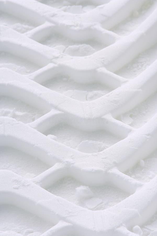 opony zimy toru obrazy stock