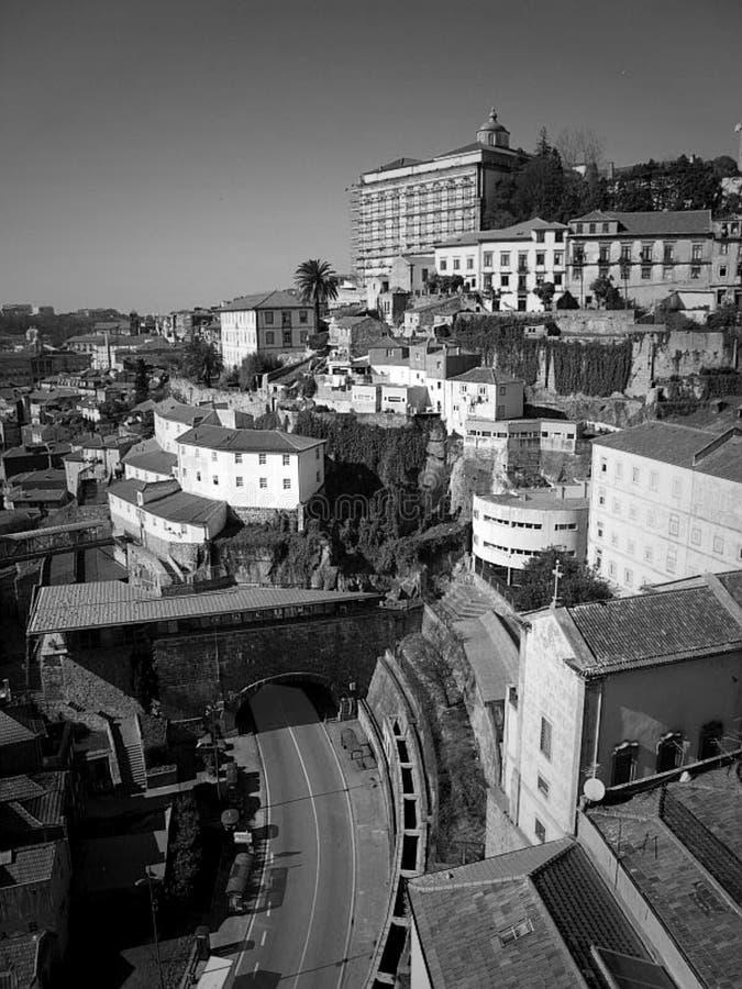 Oporto city ribeira  abstract  digital art stock image