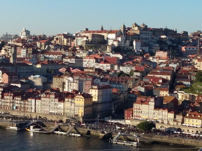 Oporto cityscape, Portugal fotografering för bildbyråer