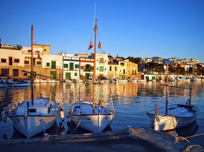 Oporto Colom Quay fotografia stock libera da diritti