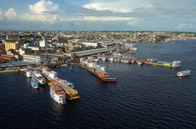 Oporto de regionale Manaus fotografia stock libera da diritti