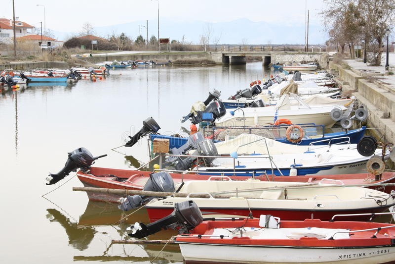 Oporto Lagos, Xanthi, Grecia imagen de archivo libre de regalías