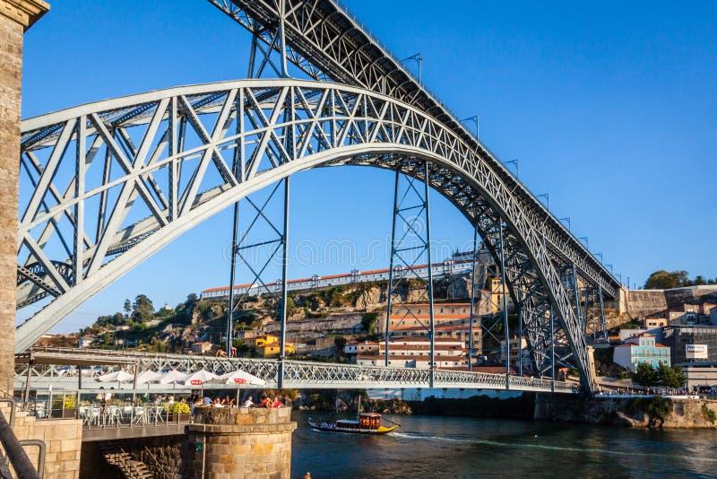 Oporto nel Portogallo fotografia stock