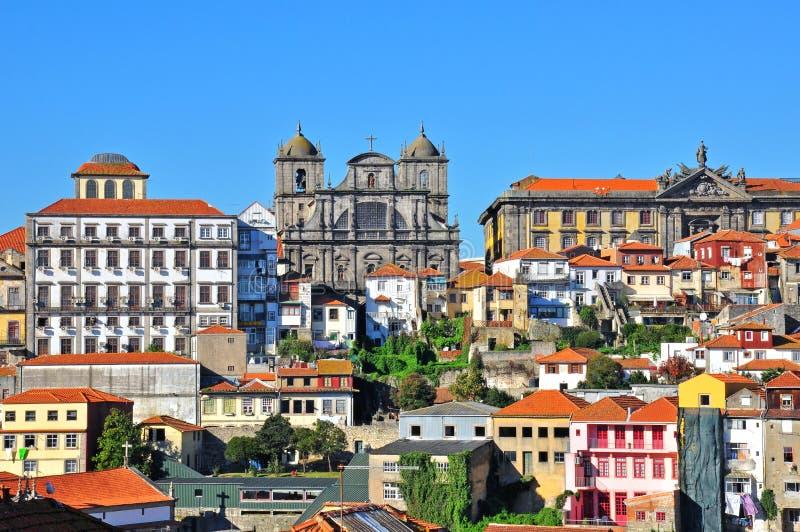 oporto portugal royaltyfria bilder