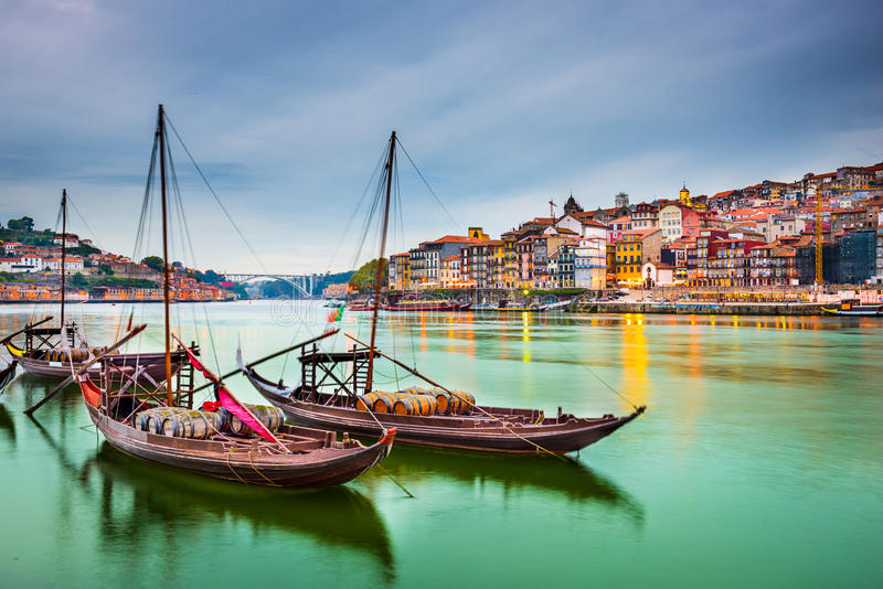 Oporto Portugal imágenes de archivo libres de regalías