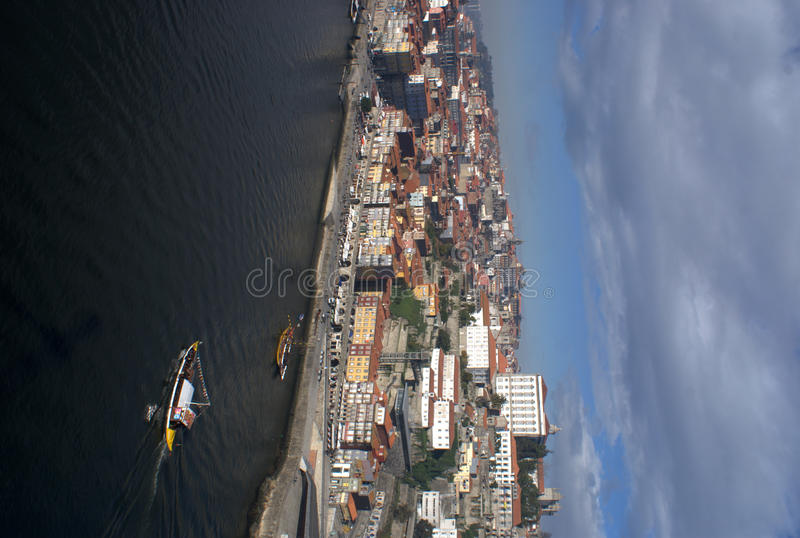Download Oporto River Front On Portugal Stock Photo - Image: 18705378
