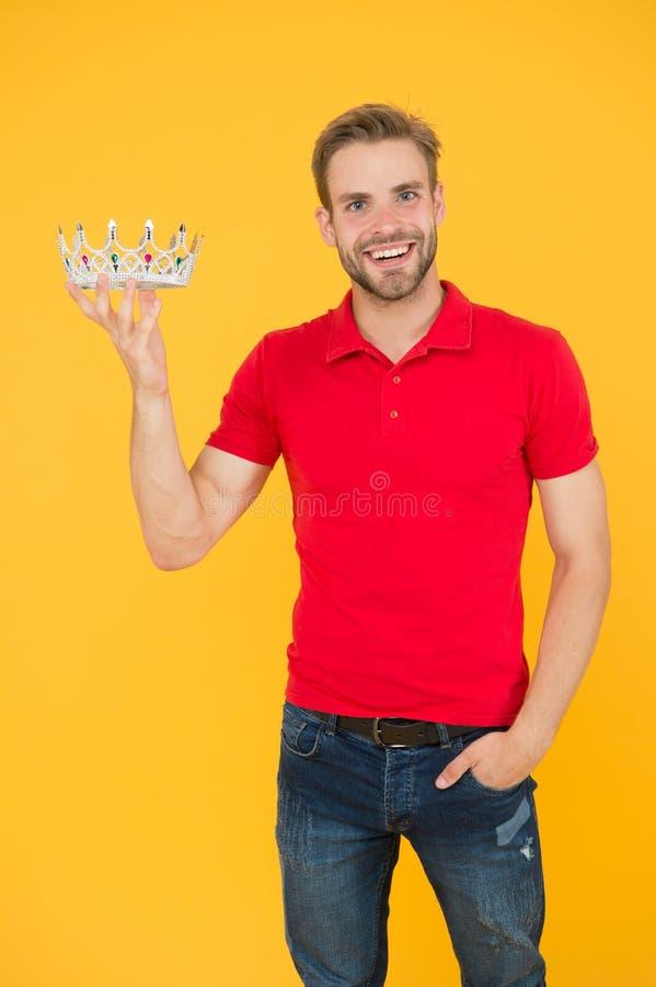 Oportunidad de convertirse en un gran jefe vivir en el lujo real rey del partido gran motivación para el futuro recompensa por su fotografía de archivo libre de regalías