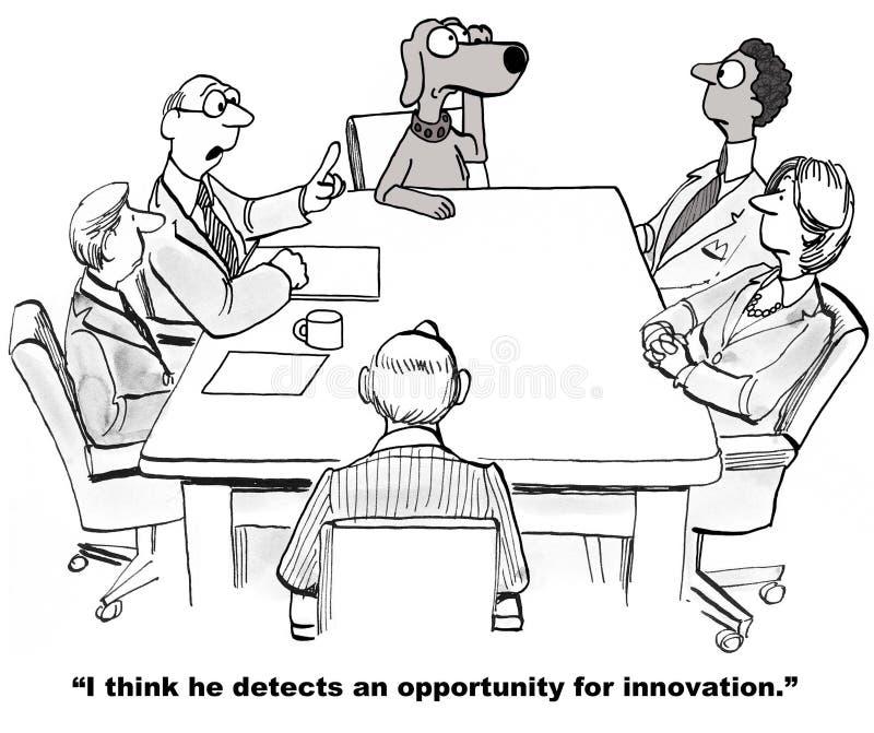 Oportunidad de la innovación stock de ilustración