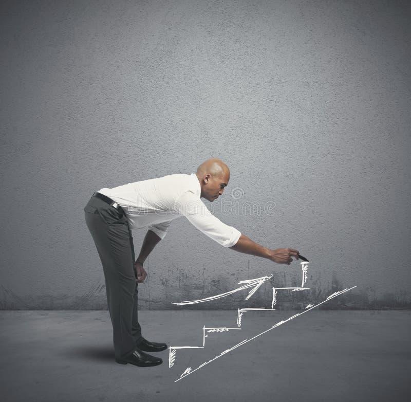 Oportunidade da carreira e de negócio foto de stock