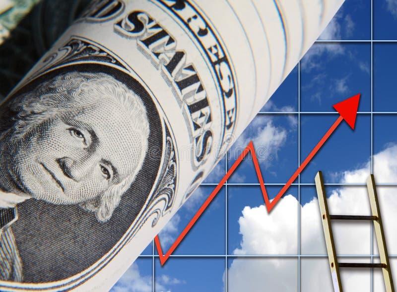 Oportunidade do dólar ilustração stock