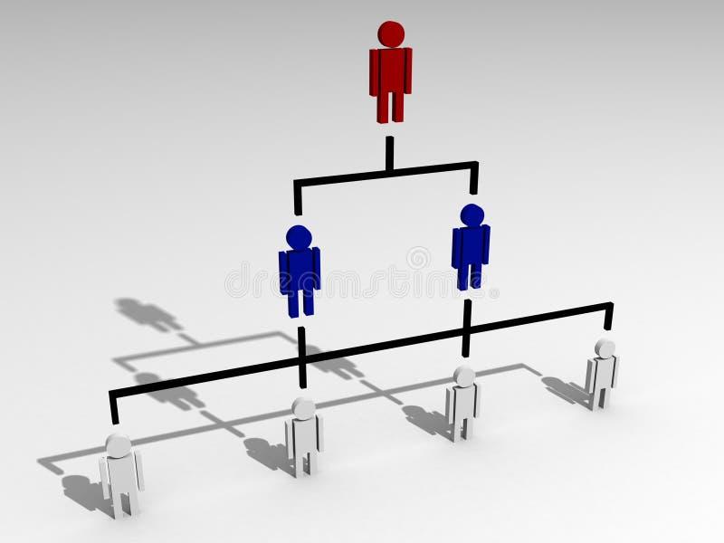 Oportunidades da carreira do sucesso ilustração do vetor