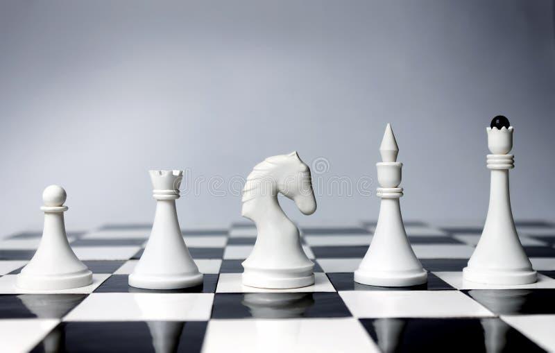 Oportunidades de la carrera en ajedrez imagen de archivo