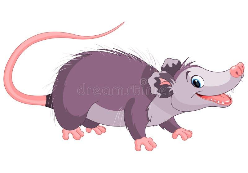 opossum illustrazione di stock