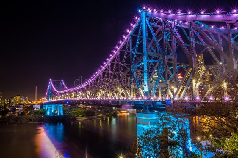Opowieść most, Brisbane miasto, Queensland zdjęcia stock
