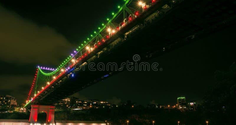 Opowieść most w Brisbane, Queensland obraz royalty free
