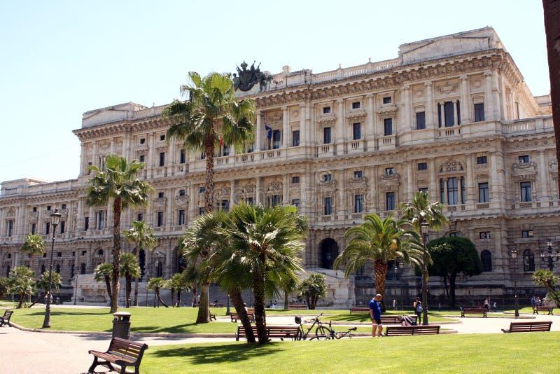Opperst hof Rome Italië royalty-vrije stock afbeelding
