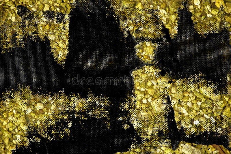 Oppervlakte van de Grunge de ultra gele Kiezelsteen, steentextuur of rotsachtergrond, gemalen achtergrond royalty-vrije stock foto's