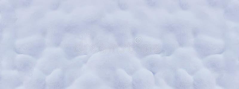 Oppervlakte van de witte verse achtergrond van de sneeuwwinter voor ontwerp stock foto's