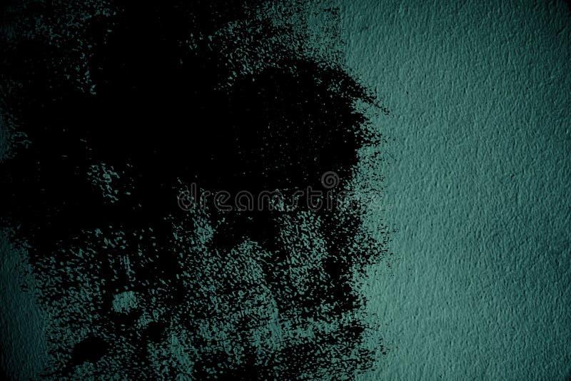 Oppervlakte van het Grunge de vuile ultra blauwe Pleister of gipspleistermuur - binnen achtergrond royalty-vrije stock afbeeldingen
