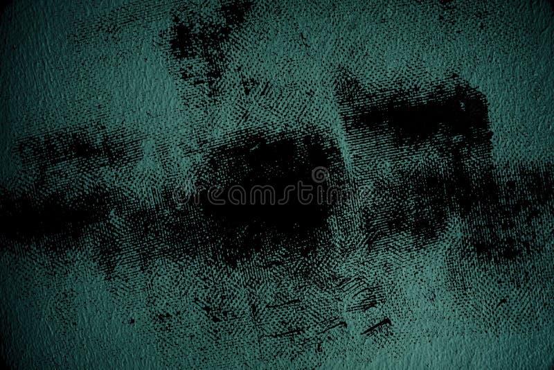 Oppervlakte van het Grunge de vuile ultra blauwe Pleister of gipspleistermuur - binnen achtergrond royalty-vrije stock foto's