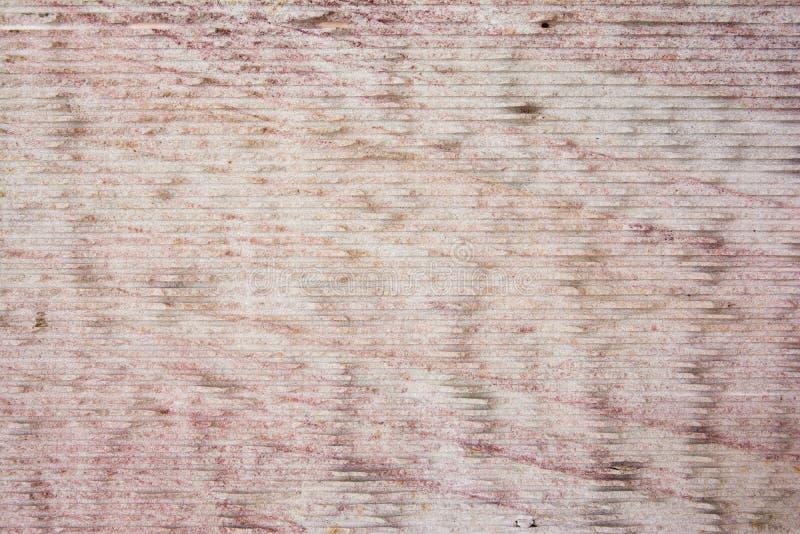 Oppervlakte van het marmer met roze horizontale lijnenachtergrond royalty-vrije illustratie