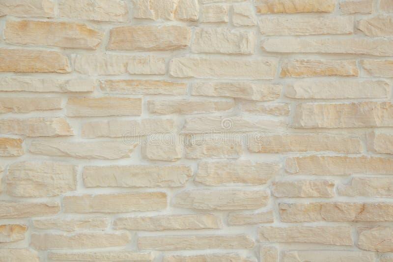 Oppervlakte van witte bakstenen muur royalty-vrije stock foto's
