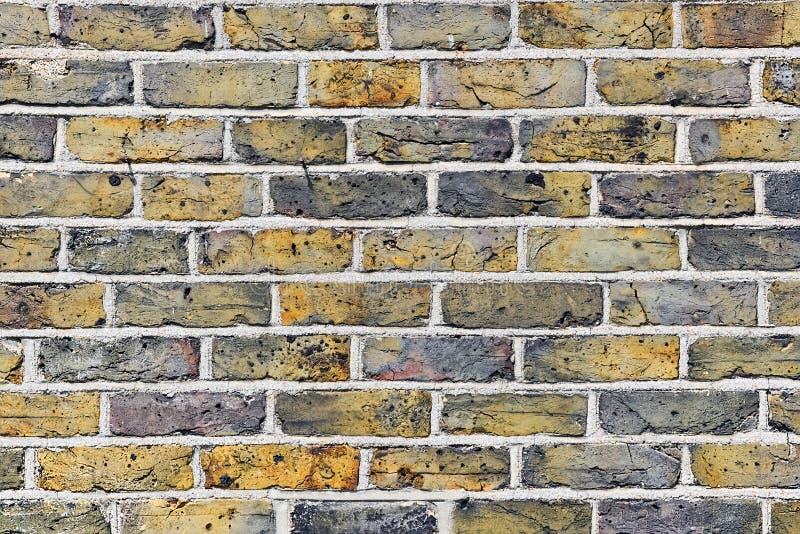 Oppervlaktetextuur van oude bakstenen muur stock afbeelding