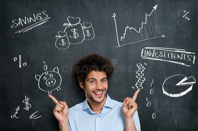 Opportunità finanziaria di affari immagini stock