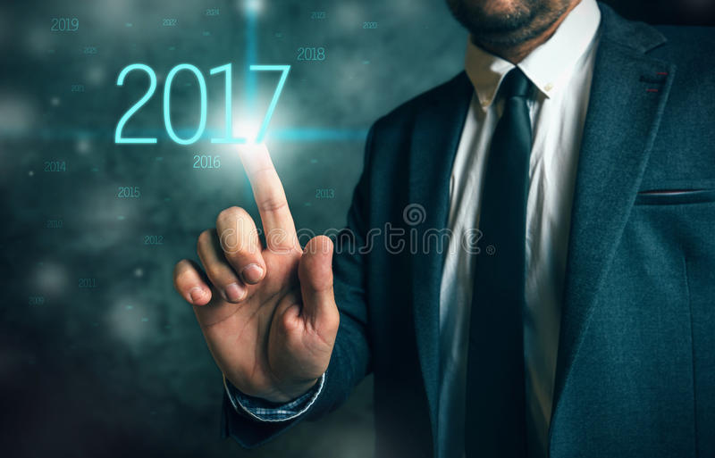 Opportunité commerciale en 2017 photos stock