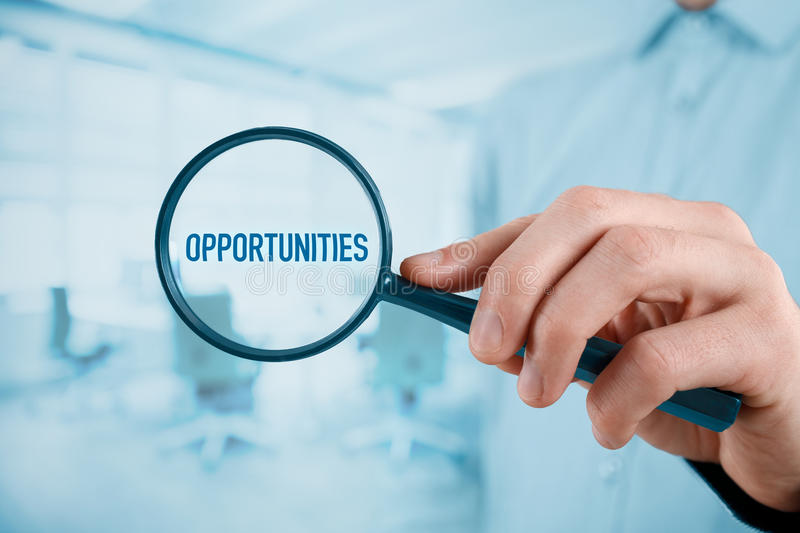 Opportunities concept royalty free stock photo