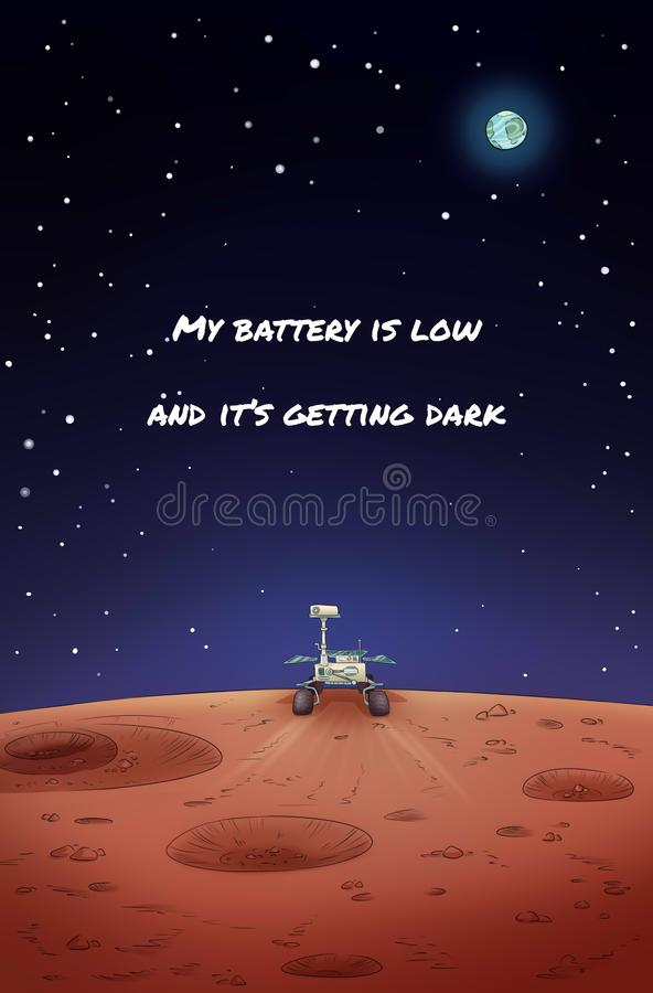 mars rover battery is low - photo #23