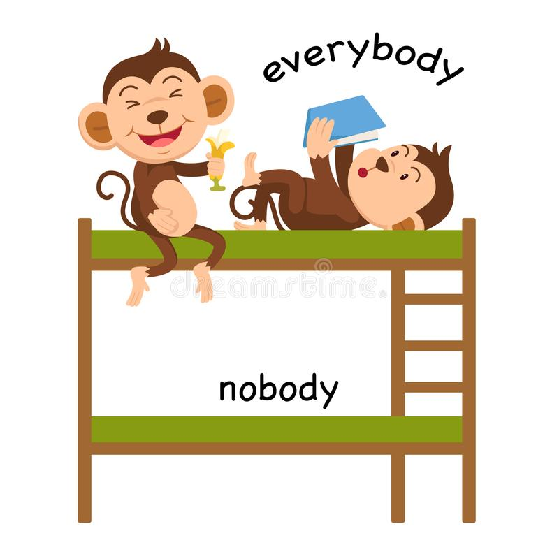 Free Opposite Everybody And Nobody Royalty Free Stock Photo - 118757165
