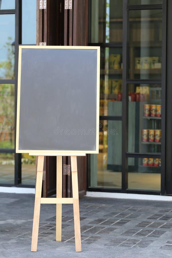Opróżnia deskowego menu produkty spożywczy i kopii przestrzeń zdjęcie royalty free