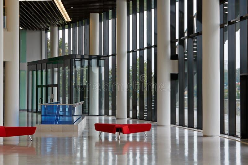 Opróżnia lobby Hall zdjęcie royalty free