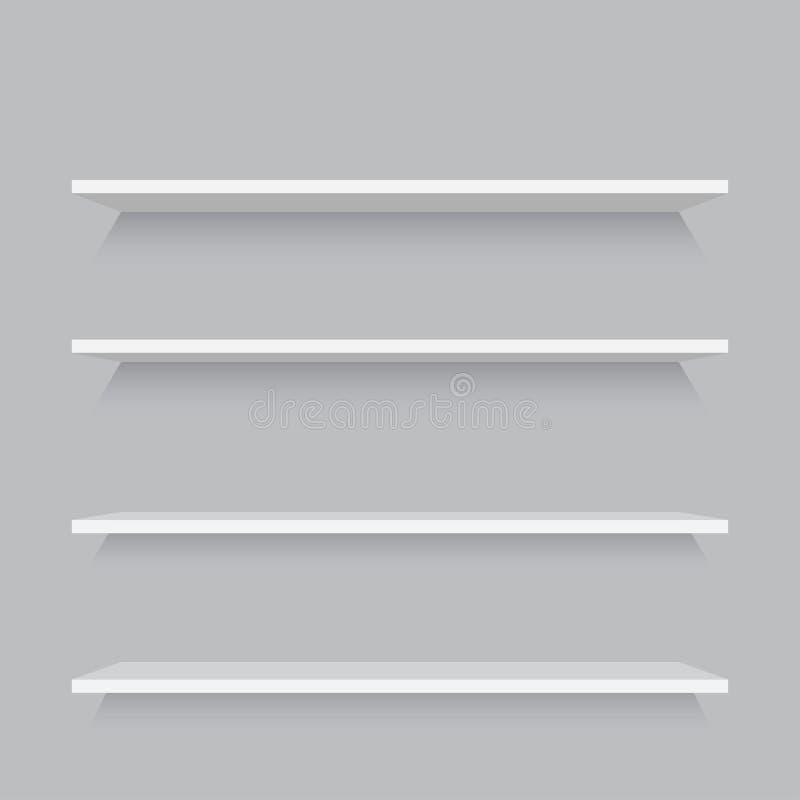 Opróżnia półka szablon ilustracji